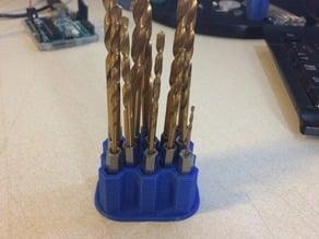 Hex drill bit holder