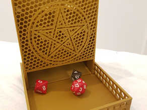 Pachinko-style Dice Tower, with tray