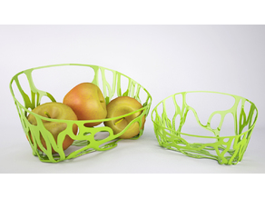 Organic Fruit Basket_ Algorithmic Geometry