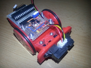 Universal Micro Robot Chassis (dirt-cheap)