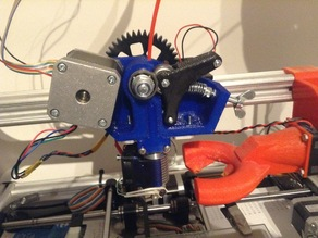 bVd Extruder version 1 ( E3D hotend 1,75 or 3 mm)
