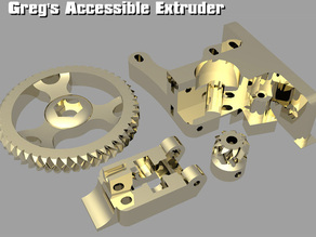 Greg's Accessible Extruder for MakerFarm Kits