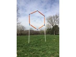 Hexagon race gate (work in progress)