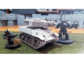 40K Siegfried Light Tank Proxy