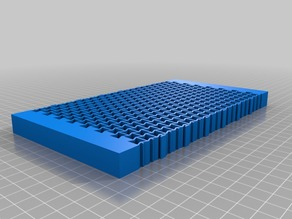 Auxetic lattice