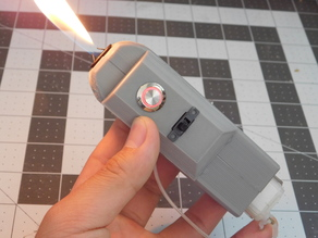 Handheld Flamethrower Enclosure