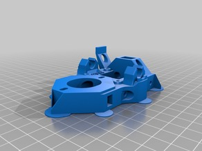 Improved Huxley X Carriage Parts