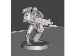 Undead Space Marine III