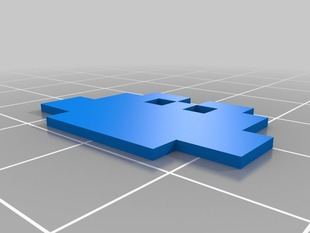 3D Pixel Bow (Made In OpenSCAD)