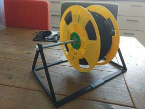 Spool stand for up to 3 spools (for M8 axis)