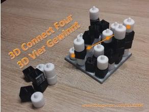 3D Connect Four boardgame / 3D Vier Gewinnt Brettspiel