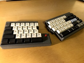 TS65 Split Mechanical Keyboard Case (standard, flexible, and with trackpoint)
