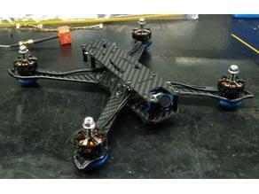 Micro camera mount for PUDA Stingy (Caddx Micro F2)
