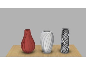 Spiral Vase collection