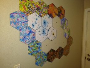 Hexagonal Picture Frame