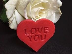 Customizable Message Heart
