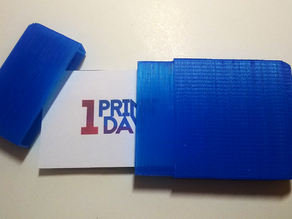 Business card case 1P1D
