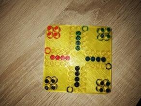 small classic german board game(Mensch ärgere dich nicht)