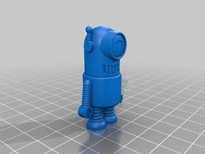 minion keyhanger or grabby the grabcad robot