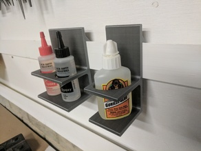 French Cleat Glue Bottle Holders