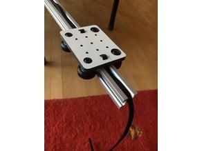 V-Slot gantry plate
