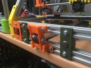 Mendelmax 1.5 Y 12mm rod mount