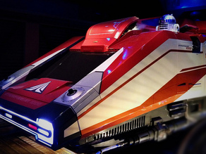 Starspeeder 3000 (simulator from Star Tours)