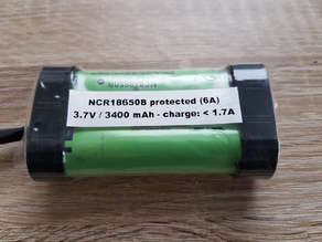 18650 cover for shrink tube - 1mm thickness