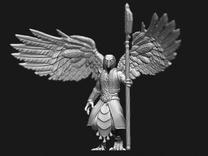 Aarakocra birdman warrior Tabletop Miniature