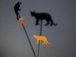 Shadow Theater - wild animals bundle