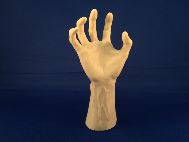 Creepy Reaching Hand By Scampbell Thingiverse