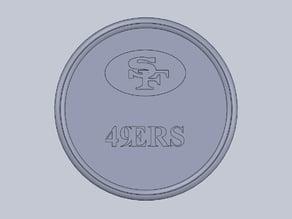 49ers coaster