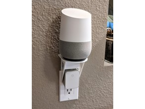 Google Home Electrical Outlet Shelf