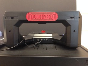 Makerbot Digitizer Back Name Plate
