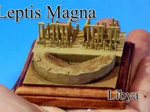 Leptis Magna ‐Libya‐