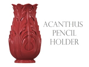 Acanthus Pencil Holder
