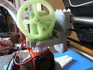 E3D hotend groovemount for i3 with RepRapPro miniextruder