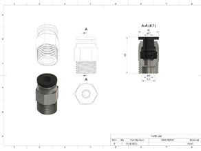 PC4-M10x1.0