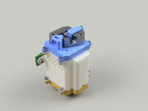 3Dator extruder with cooling duct