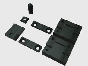 Wanhao Duplicator 6 Front door hinge & knob