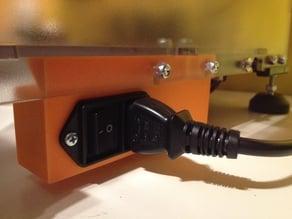Vertex K8400 power switch housing