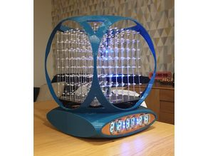 VFD LED Light Cube Clock