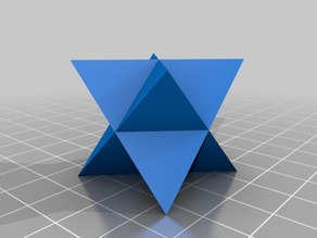 Tetrahedron-in-the-box & Stellated Octahedron (also fits in the box)