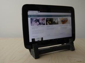 Granite tablet stand