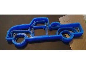 Classic Pickup Truck Cookie Cutter