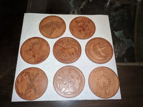 Game of Thrones Themed Coasters