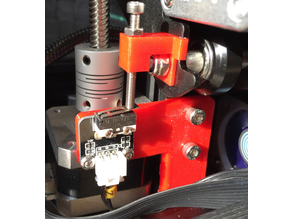 Ender 2 Z Axis adjustable endstop for nozzle high