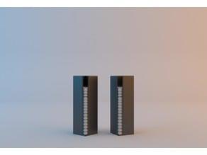 20x20 square bases storage