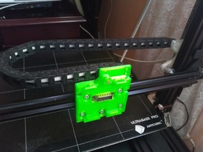 Quick fit carriage system v-slot 2020 eccentric for Anycubic Chiron and many others