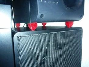 Flexible Speaker Foots